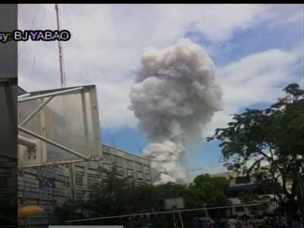 菲律宾发生严重火灾 至少10人受伤 死亡人数不明 hinh anh 1
