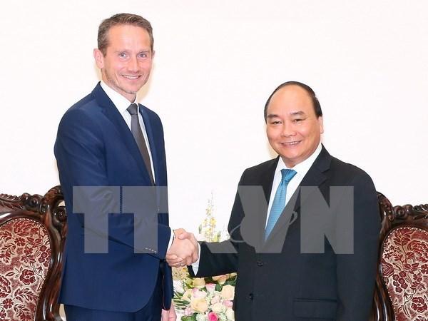 丹麦外交部长:越丹继续在政治、经济、投资等多领域加强合作 hinh anh 1