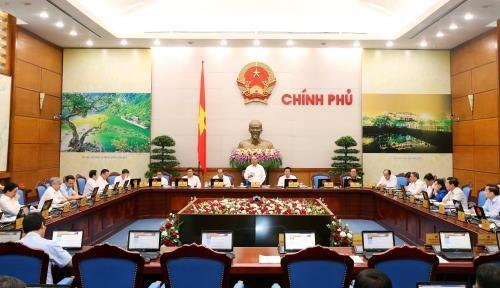 越南政府9月份例行会议决议:经济社会发展释放出积极信号 hinh anh 1