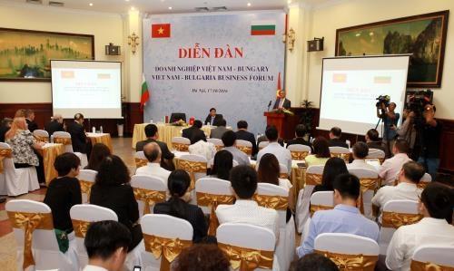 越南国会副主席冯国显会见保加利亚经济部长博日达尔·卢卡斯基 hinh anh 1