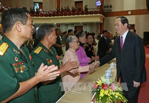 陈大光主席:主动掌握情况 牢牢捍卫首都河内的绝对安全 hinh anh 1
