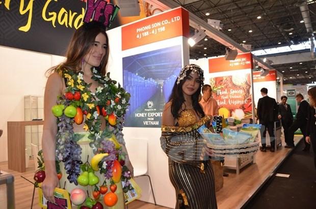 越南参加2016年法国巴黎国际食品及饮料博览会 hinh anh 1