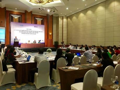 越南为女人当家企业发展提供支持 hinh anh 1