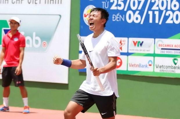 越南男网F7未来赛:李黄南/阮黄天晋级半决赛 hinh anh 1