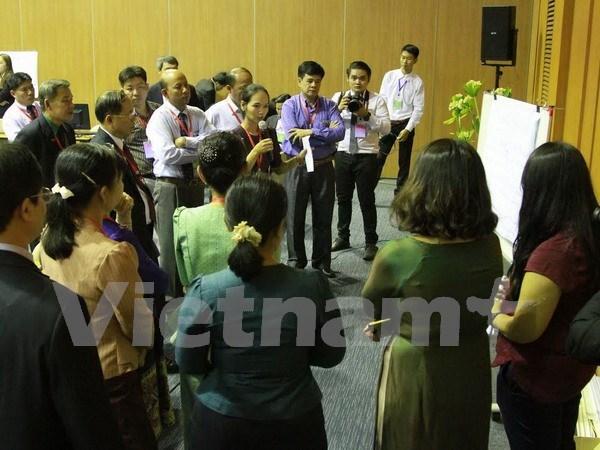 展开落实大湄公河次区域可持续发展目标的国际研讨会在老挝举行 hinh anh 1