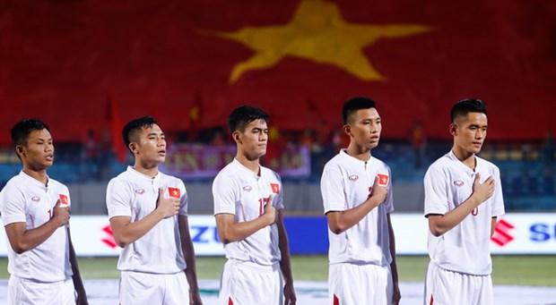 亚青U19决赛:越南队创下历史辉煌取得2017年U20世界杯足球赛参赛资格 hinh anh 3