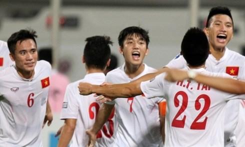 亚青U19决赛:越南队创下历史辉煌取得2017年U20世界杯足球赛参赛资格 hinh anh 1