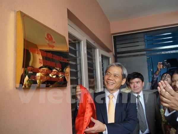 越南驻尼泊尔领事馆开馆 hinh anh 1