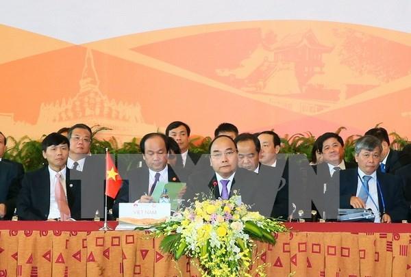 第八届柬老缅越合作峰会《抓住机遇、规划未来的联合声明》 hinh anh 1