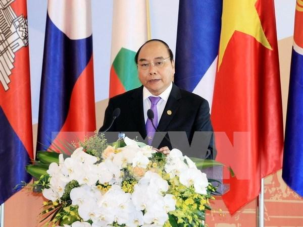 第七届伊洛瓦底江-湄南河-湄公河经济合作战略框架峰会和第八届柬老缅越合作峰会正式开幕 hinh anh 1