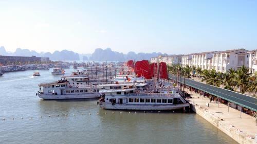 广宁省巡州国际旅游港新建候船厅正式启用 hinh anh 1