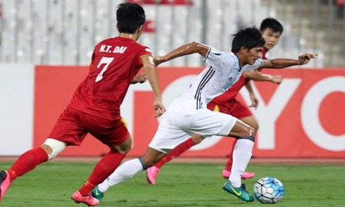 亚青赛半决赛:越南队无缘决赛 hinh anh 1