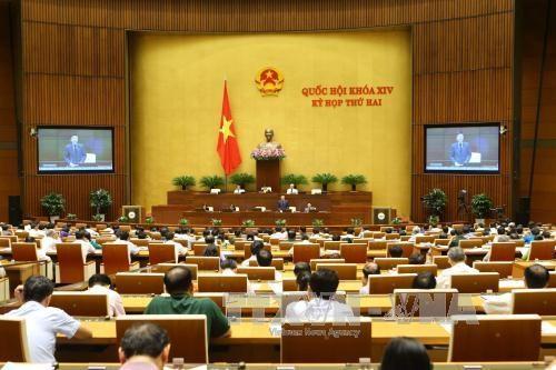 越南第十四届国会第二次会议发表第六号公报 hinh anh 1