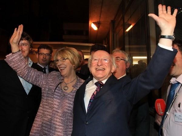 爱尔兰总统希金斯即将对越南进行国事访问 hinh anh 1
