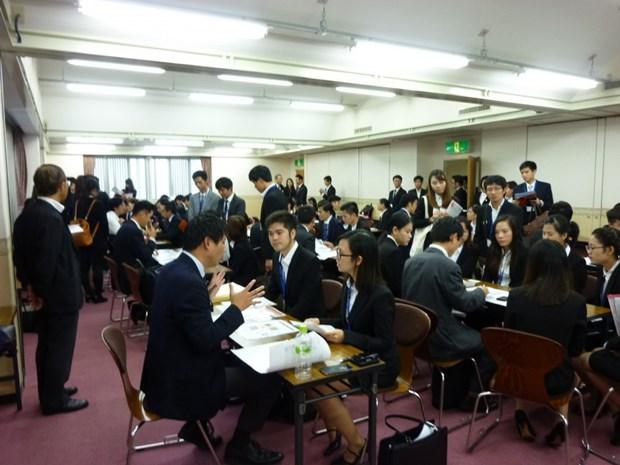 越南大学生与日本企业互动交流会在日本举行 hinh anh 1