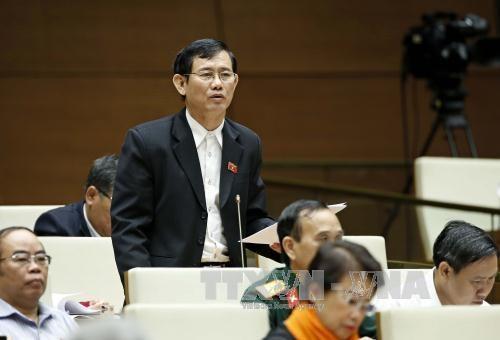 越南第14届国会第2次会议:加强公共债务管理确保投资和谐 hinh anh 1