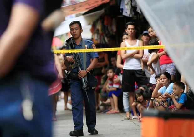 美国暂停向菲律宾警方出售武器 hinh anh 1