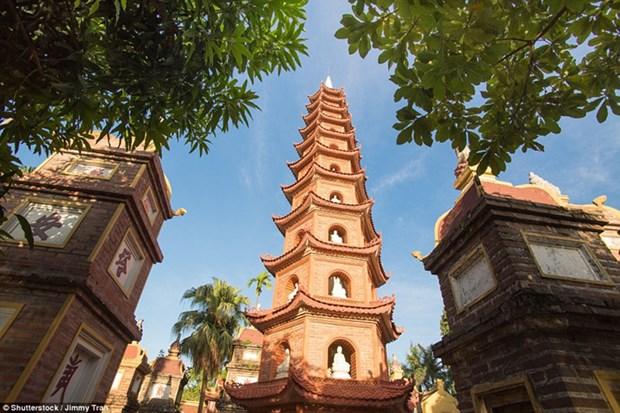 河内西湖镇国寺跻身全球最美寺庙16强 hinh anh 1