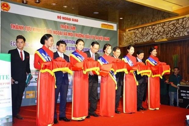 """""""越南投资环境及对外经济成就""""展在胡志明市举行 hinh anh 1"""