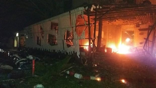 泰国南部地区连续发生枪击和爆炸袭击3人死亡 hinh anh 1