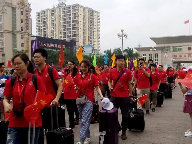 第三届越中青年大联欢规模巨大 hinh anh 1