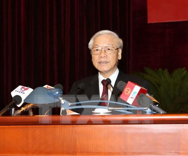 越共中央委员会颁发关于融入国际经济的决议 hinh anh 1