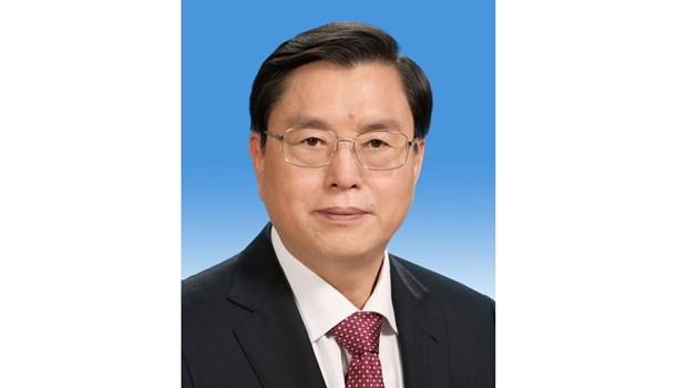 中国全国人大常委会委员长张德江开始对越南进行正式友好访问 hinh anh 1