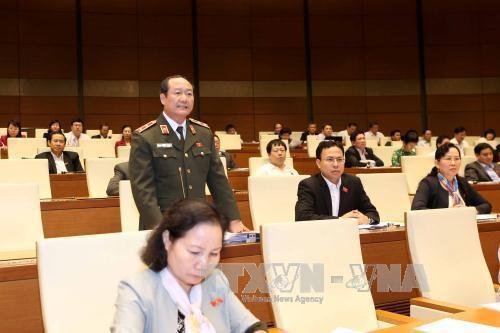 越南第十四届国会第二次会议发表第十三号公报 hinh anh 1