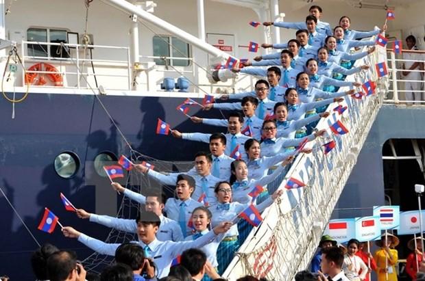 东南亚与日本青年船11日将抵达越南胡志明市 hinh anh 1