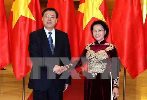 进一步加强越南国会和中国全国人民代表大会的合作关系 hinh anh 1