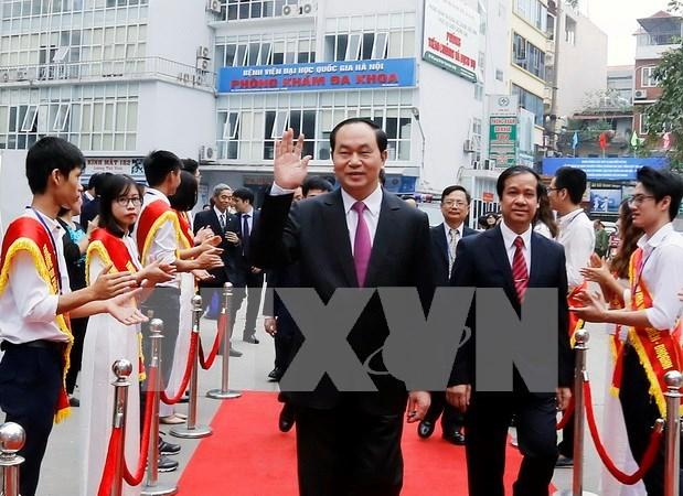 陈大光主席要求自然科学大学进一步加强科研工作 hinh anh 1