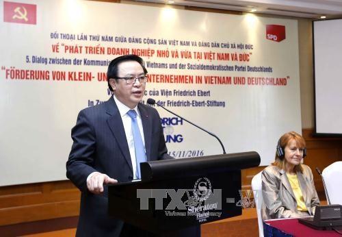 越南共产党与德国社会民主党第五次对话会在河内举行 hinh anh 1