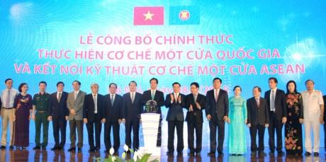 越南启动东盟单一窗口和国家单一窗口机制 hinh anh 1