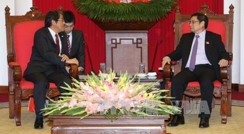日本新任驻越南大使梅田邦夫:日本政府重视与越南的关系 hinh anh 1