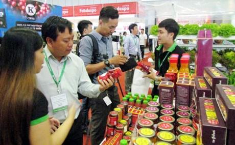 2016年越南工业食品国际展会在胡志明市开展 hinh anh 1