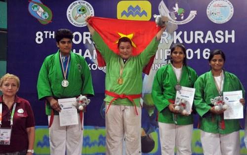 2016年世界青年克柔术锦标赛:越南队总排名第二 hinh anh 1