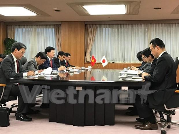 日本愿为越南开展大规模基础设施建设项目提供支持 hinh anh 1