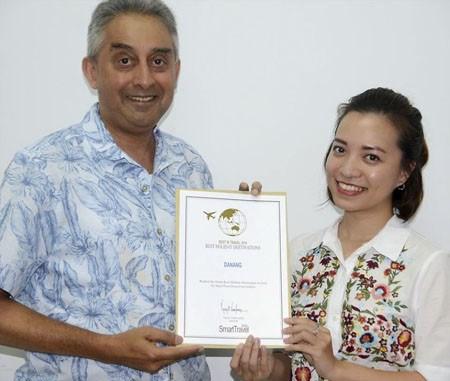 越南中部岘港市第二次被列入亚洲十佳度假目的地名单 hinh anh 1