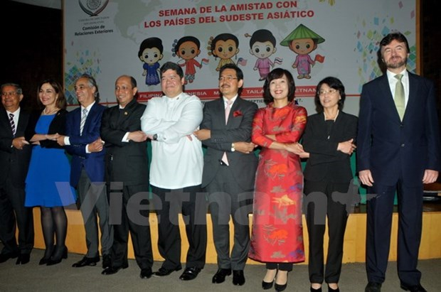 东盟成立50周年纪念活动在墨西哥举行 hinh anh 1