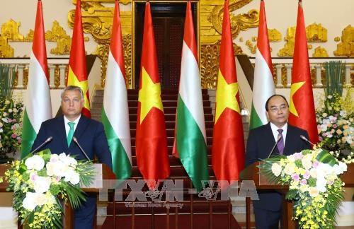 政府总理阮春福与匈牙利总理维克多•奥尔班举行会谈 hinh anh 4