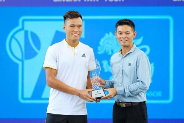 Singha TATP Tour国际男网锦标赛:范明俊摘银 hinh anh 1