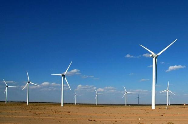 东南亚地区最大的风电厂正式竣工投运 hinh anh 1