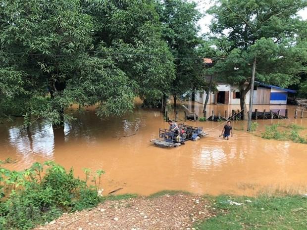 老挝水电站大坝坍塌事故:老挝政府通过赔偿政策 hinh anh 1