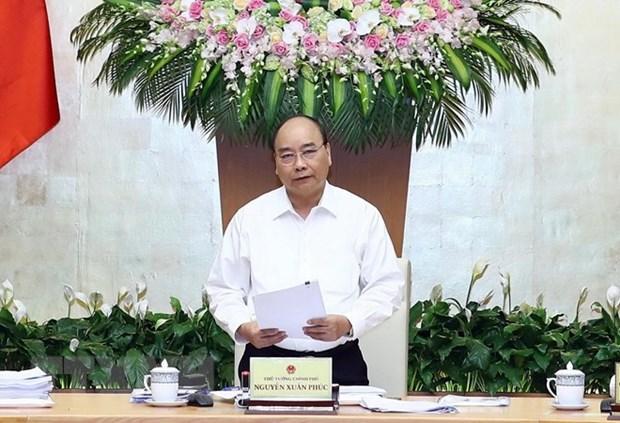 越南政府总理阮春福:外国投资商对越南经济的信心日益增强 hinh anh 1