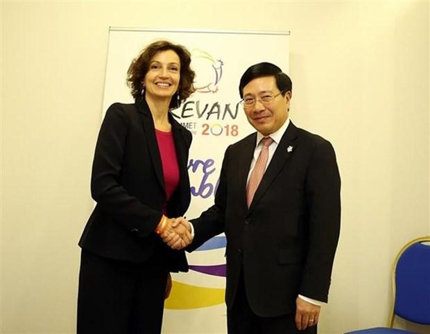 越南政府副总理范平明出席第十七届法语国家组织峰会 hinh anh 1