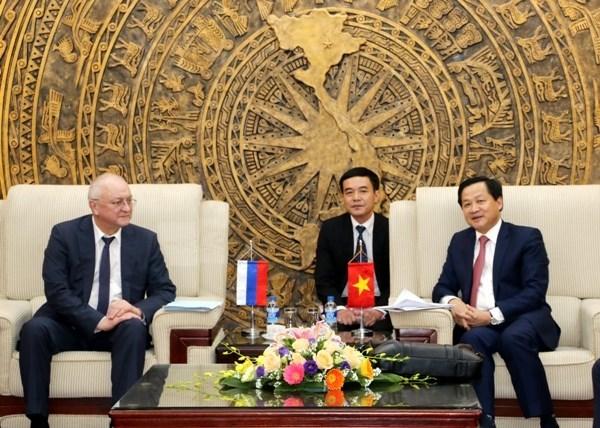越南与俄罗斯加强反腐合作 hinh anh 1