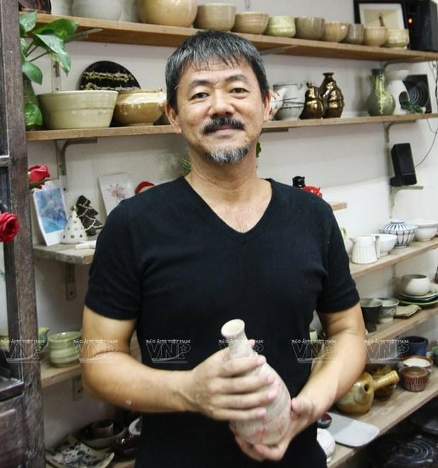 Tomizawa Mamoru情系越南陶瓷 hinh anh 1