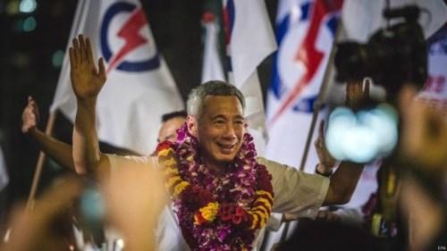 新加坡执政党在国会选举中获胜 hinh anh 1