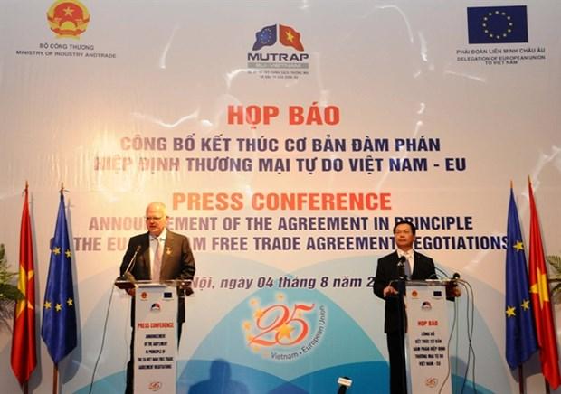 自由贸易协定生效后越南与欧盟的展望 hinh anh 2