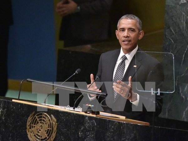 美国鼓励有关各方恪守国际法 以和平方式解决东海争端 hinh anh 1